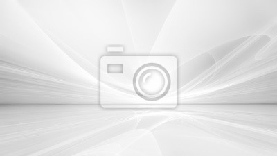 Fototapete white futuristic background