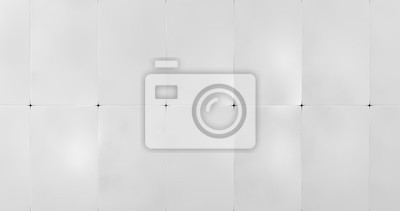 Fototapete White Wall Panels Background (3d illustration)