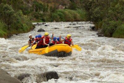 Fototapete Whitewater River Rafting Abenteuer