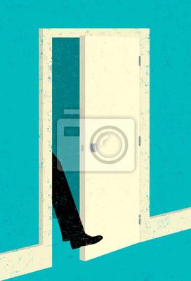 Wie Sie Ihre Fuß in der Tür