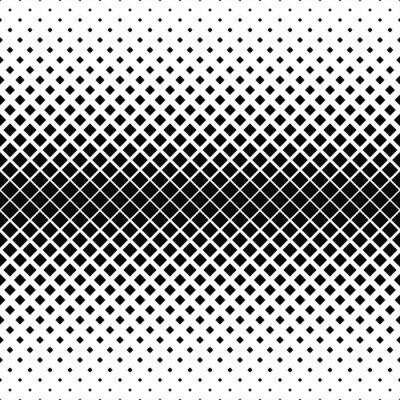 Fototapete Wiederholen monochromen quadratischen Muster