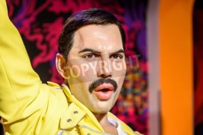 Fototapete WIEN, ÖSTERREICH - AUGUST 08, 2015: Freddie Merkur-Figur Am Madame Tussauds Wachs-Museum.