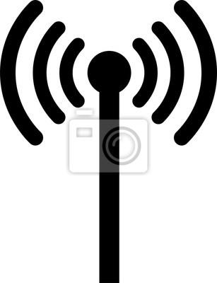 Wifi-symbol, wireless-symbol für web und mobile, wireless zone ...