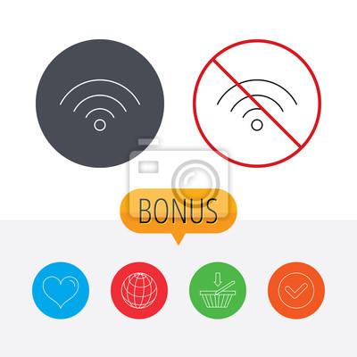 Wifi-symbol. wireless wi-fi-netzwerk anmelden. fototapete ...