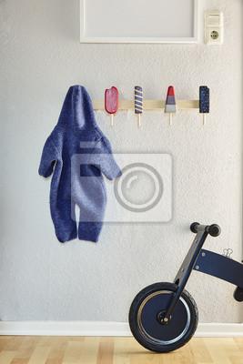 Wilde jungen kinderzimmer einzigartige garderobe und fahrrad ...