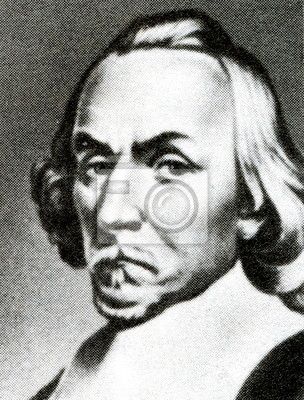 William harvey, english physician fototapete • fototapeten ...