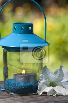 Windlicht Garten Laterne Fototapete Fototapeten Laube Idylle