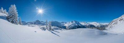 Fototapete Winter in den Bergen
