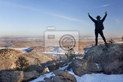 Winterwandern in Colorado