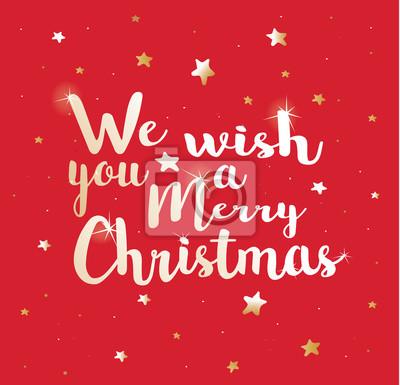 Wir Wünschen Dir Frohe Weihnachten.Fototapete Wir Wünschen Dir Frohe Weihnachten
