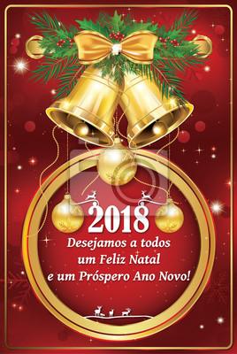 Wir Wünschen Dir Frohe Weihnachten.Fototapete Wir Wünschen Ihnen Frohe Weihnachten Und Ein Gutes Neues Jahr