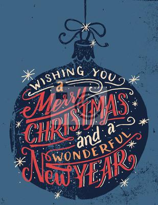 Wir wünschen ihnen frohe weihnachten und ein schönes neues jahr ...