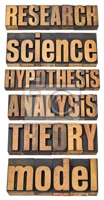 Wissenschaft und Forschung Begriffe
