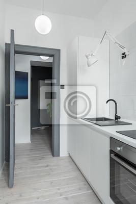 Witewashed Fussboden In Der Kuche Fototapete Fototapeten Appartment