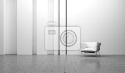 Wohnen Weiß Design Interieur Sessel Fototapete Fototapeten