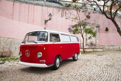 Fototapete Wohnmobil autour du Monde
