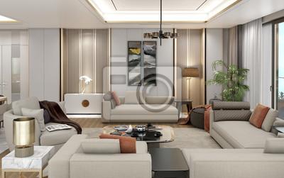 Fototapete: Wohnzimmer