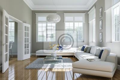Wohnzimmer In Altbauwohnung Fototapete Fototapeten Appartment
