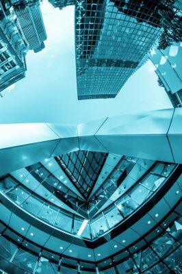 Fototapete Wolkenkratzer in der City of London
