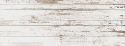 Fototapete wood board white old style abstract background objects for furniture.wooden panels is then used.horizontal
