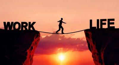 Fototapete Work-Life-Balance