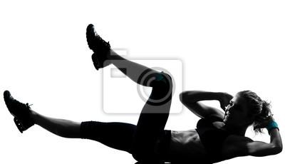 workout fitness Haltung Bauchmuskeln Push-ups
