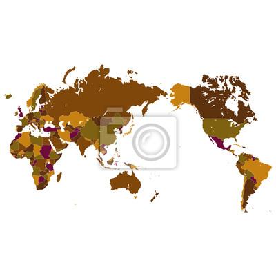 Fototapete 世界 地 図 世界 地 図