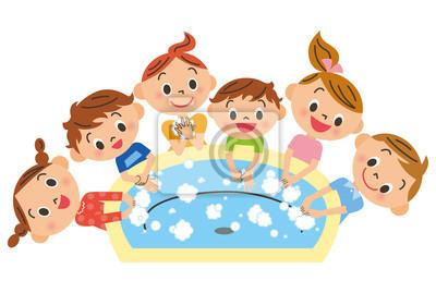 手 を 洗う 子供 達