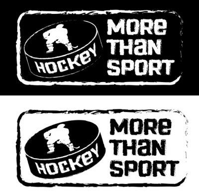 Fototapete Хоккейный принт на футболку