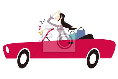 ドライブ する 女性