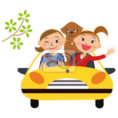 友達 と ドライブ