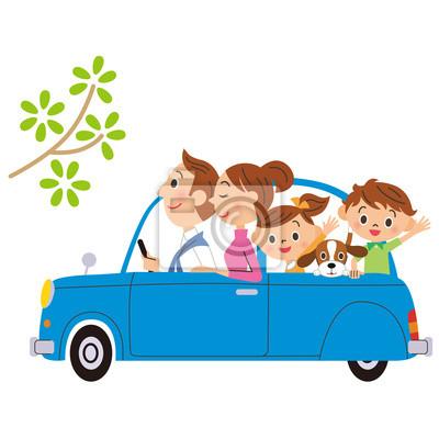 家族 と ドライブ