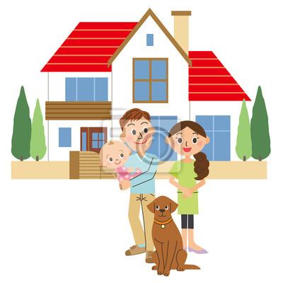 家 と 家族