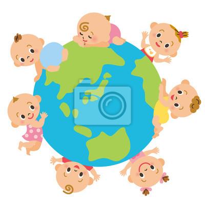 地球 と 赤ちゃん