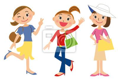 ショッピング, 女性