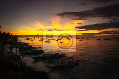 Fototapete рассвет панглао