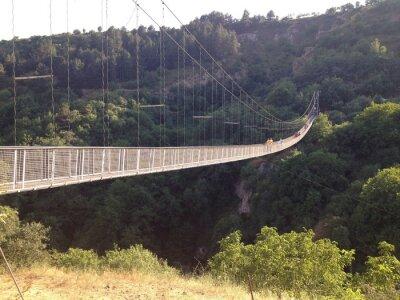 Fototapete Подвесной мост