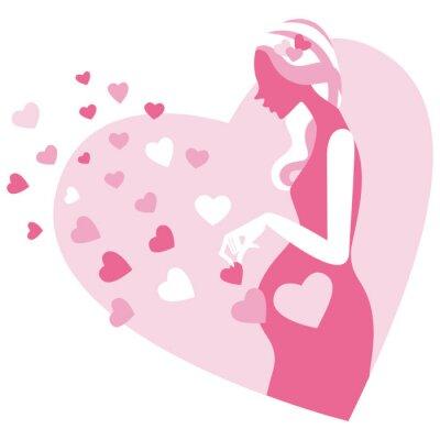 妊婦 シルエット
