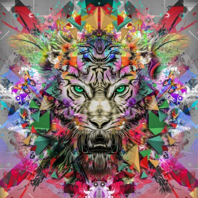 Fototapete тигр