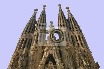 Kirche Sagrada Familia in Barcelona, Spanien