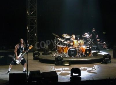 Fototapete Konzert der Band â € œMetallicaâ €, Rom 24. Juni 2009. Die Band.
