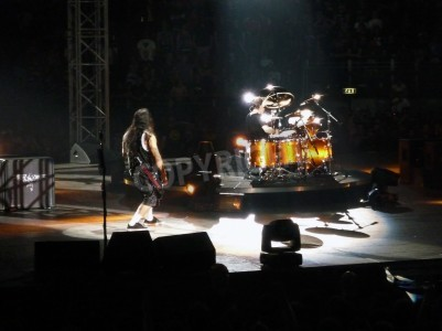 Fototapete Konzert der Band â € œMetallicaâ €, Rom 24. Juni 2009. Die Bühne