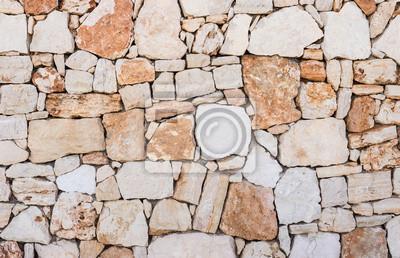 Steinmauer Mediterran natursteine stein mauer hintergrund mediterran textur fototapete