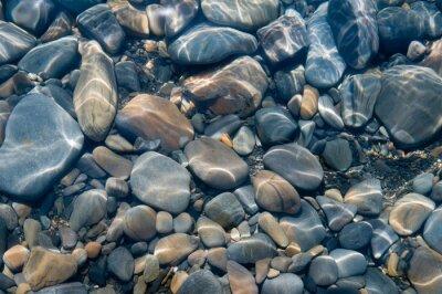Fototapete Steine unter Wasser.