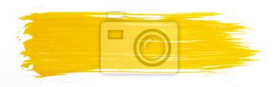 Fototapete Yellow paint