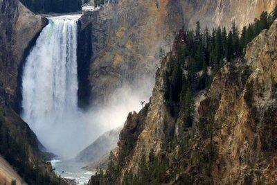 Fototapete Yellowstone-Fall