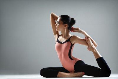 Fototapete Yoga-Übung