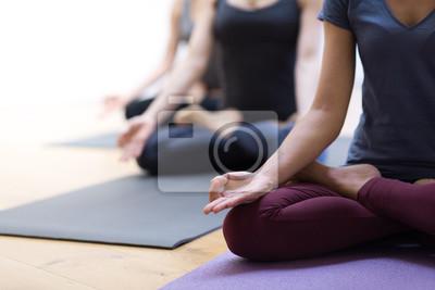 Fußboden Schlafzimmer Yoga ~ Yoga und achtsamkeitsmeditation fototapete u fototapeten haltung