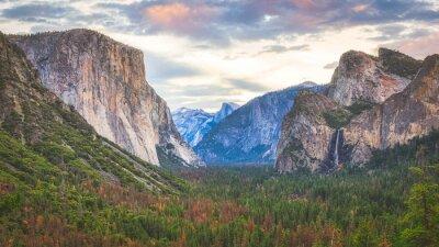 Yosemite California Tunnel Ansicht