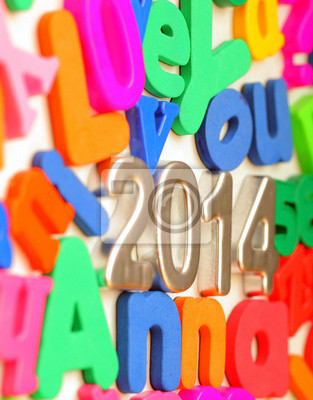 Zahlen 2014 neue Jahr